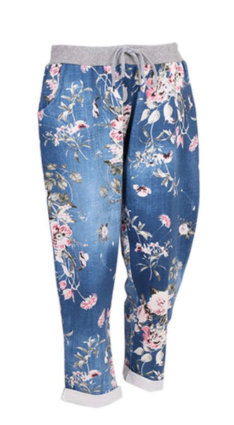 Anne + Kate Italian Rose Dark Denim Trouser 16-20