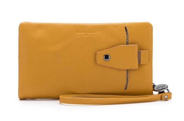 Black Caviar Mavie Wallet Mustard
