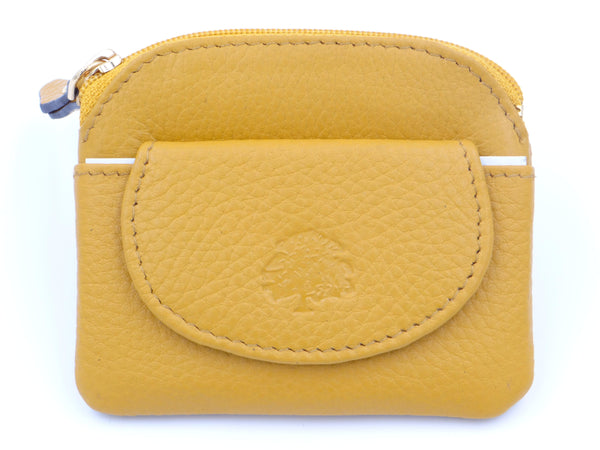 Second Nature Manage Me Coin Wallet Mustard