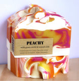 Handcrafted Cold Process Soap Peachy