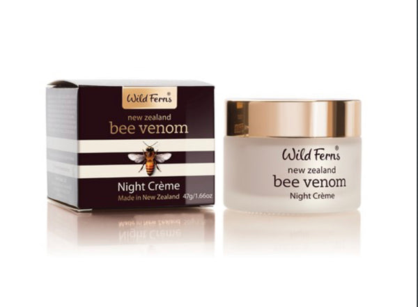 Wild Ferns New Zealand Bee Venom Night Creme