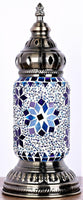 Turkish Mosaic Lamp Ottoman Style Blue TL72