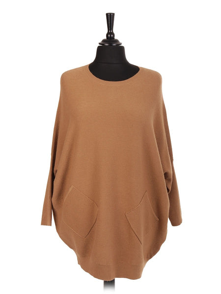 Anne + Kate Lace Back Batwing Jumper