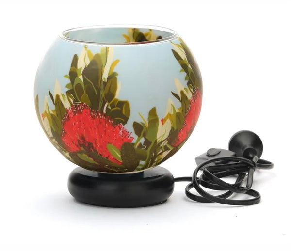 Pohutukawa Blush Electric Lamp