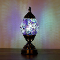 Turkish Oval Mosaic Lamp TL67
