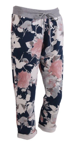 Anne + Kate Italian English Rose Navy Trouser 10-16