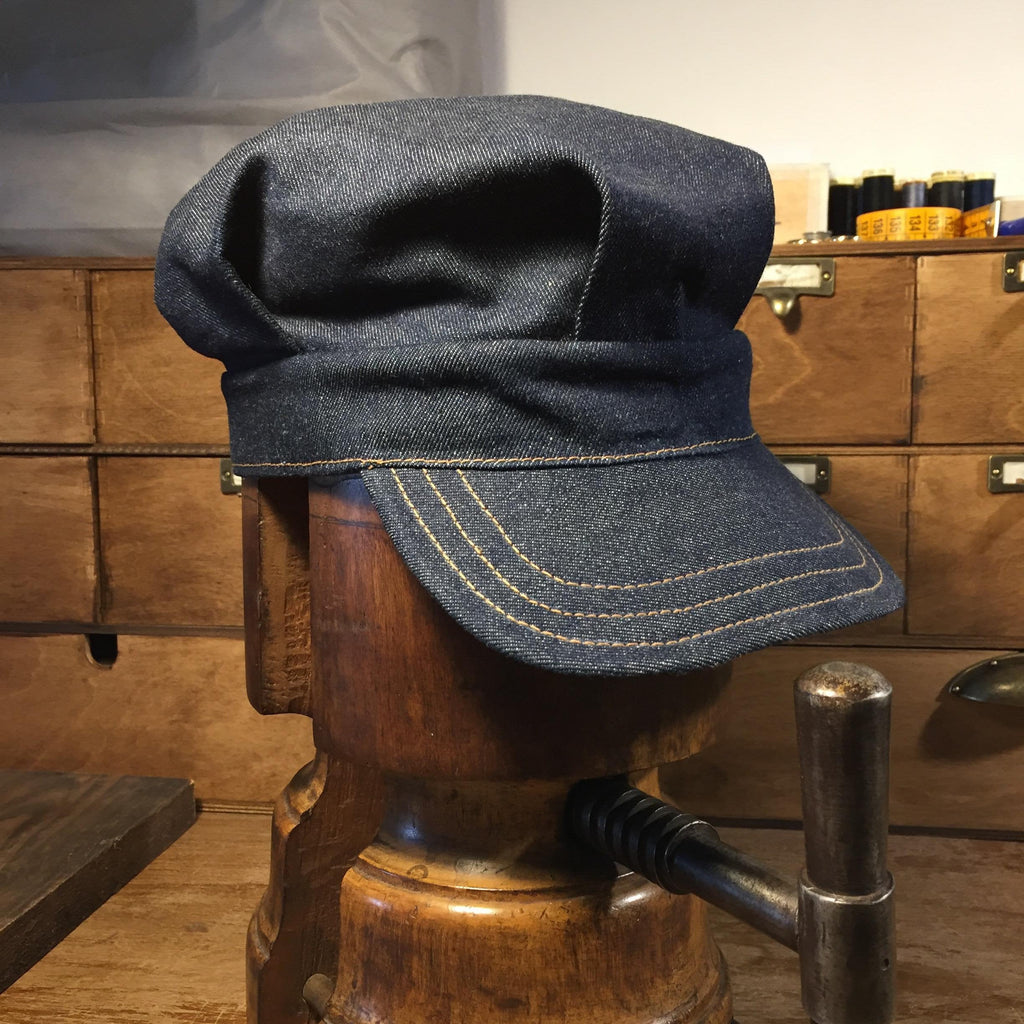 Engineer Cap Denim