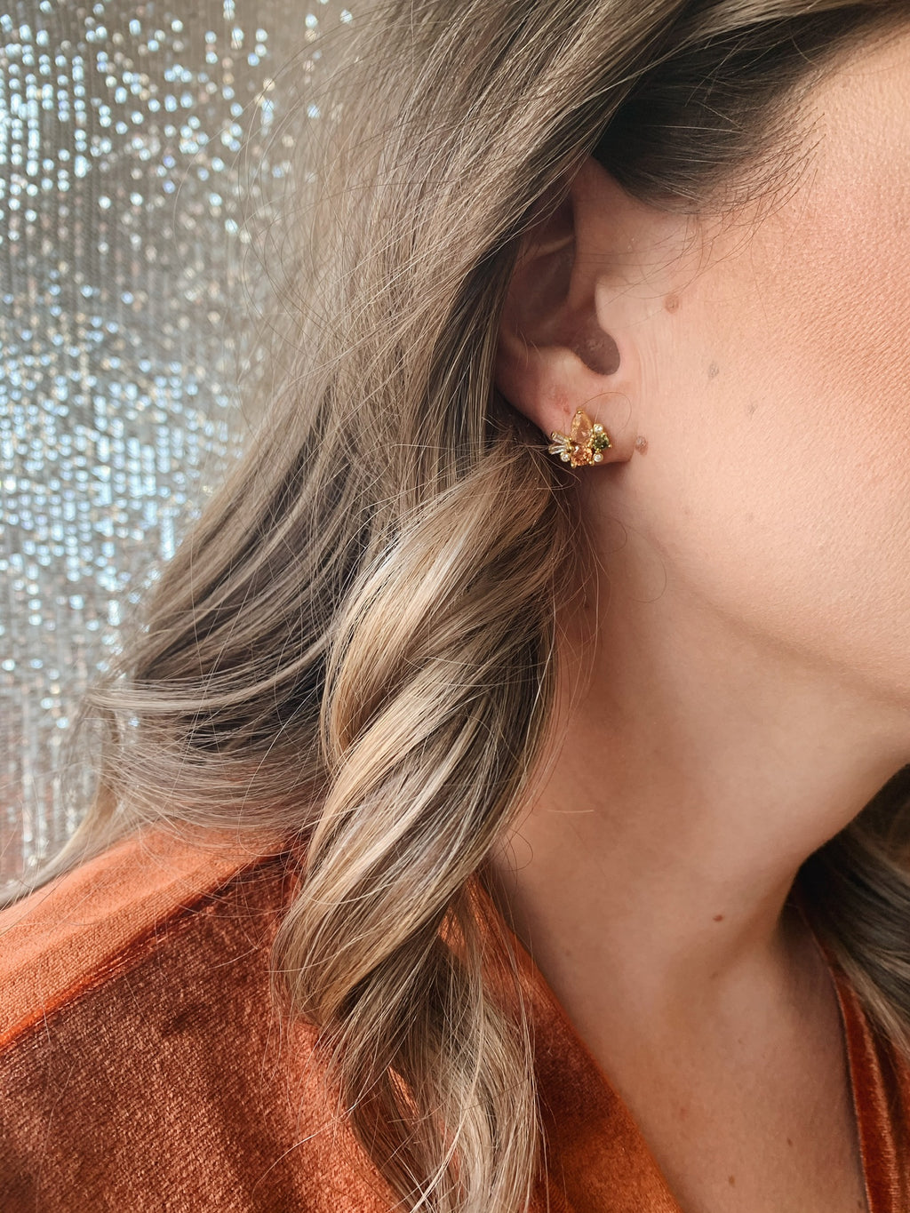 Meadow Cluster Studs