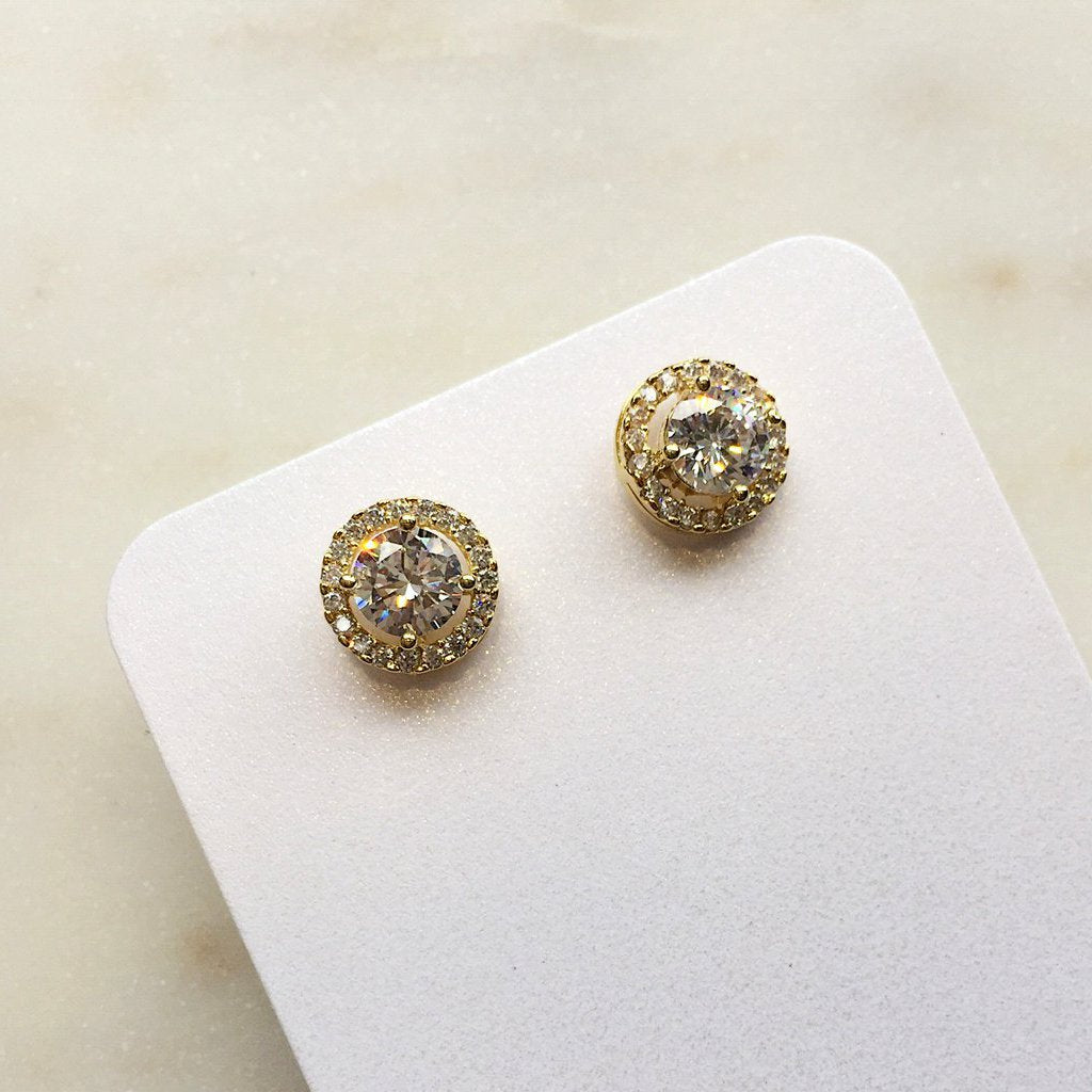 Hazel Earrings Gold