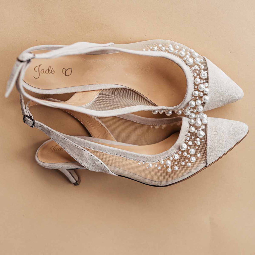 Pearl Slingbacks 💗 Special Order