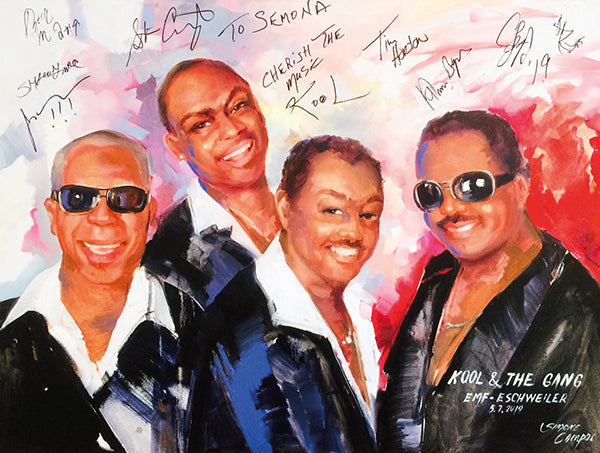 Kool & the Gang  / Print