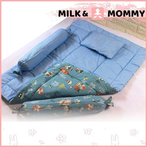 Baby Bed - Blue Fox
