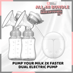 All-In Bundle: Breast Milk Pump Super Package