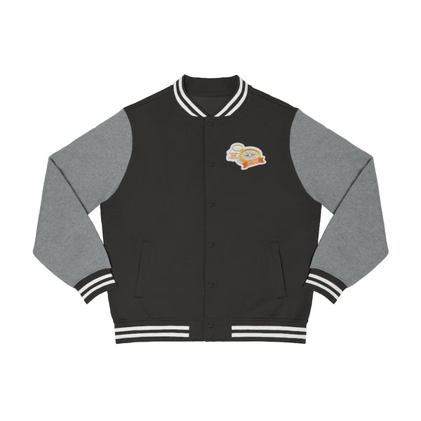 Let's Roam Compass Men's Varsity Jacket