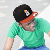 Lets Roam Snowman Flat Bill Hat
