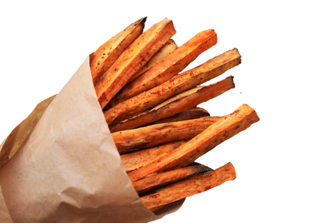 Frites de patate douces - vitality-food.be