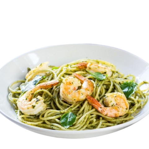 Scampis au pesto - vitality-food.be