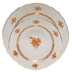 HEREND CHINESE BOUQUET RUST HEREND