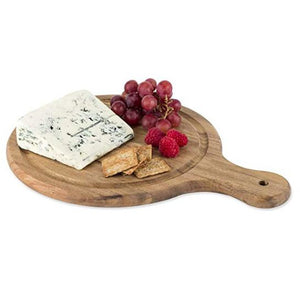 TWINE ACACIA WOOD ARTISAN CHEESE PADDLE TRUE BRANDS