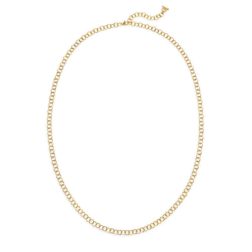 TEMPLE ST CLAIR 18K YELLOW GOLD ROUND CHAIN 24