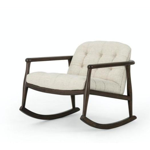 FOUR HANDS BRESLIN ROCKER- THAMES CREAM FOUR HANDS
