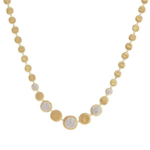MARCO BICEGO JAIPUR YELLOW GOLD & DIAMOND NECKLACE MARCO BICEGO