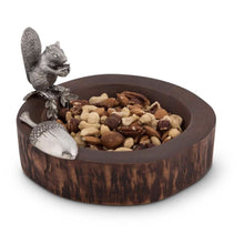 Load image into Gallery viewer, VAGABOND HOUSE STANDING SQUIRREL NUT BOWL WITH SCOOP VAGABOND HOUSE