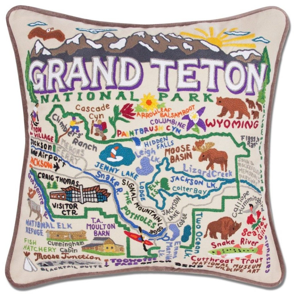 CATSTUDIO GRAND TETONS PILLOW