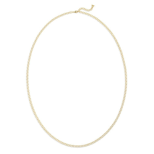 TEMPLE ST CLAIR 18K YELLOW GOLD SMALL ROUND CHAIN 32