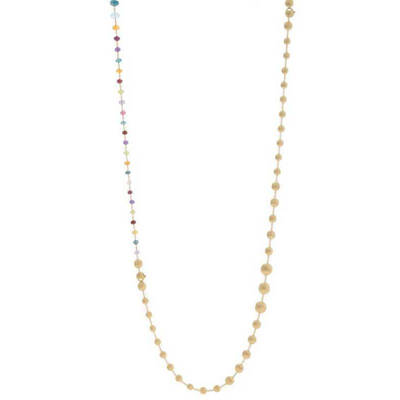 MARCO BICEGO AFRICA GEMSTONE NECKLACE
