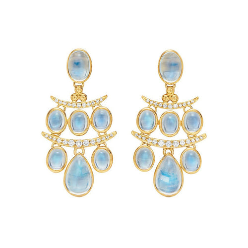 18K SETA MOON DROP EARRINGS TEMPLE ST CLAIR
