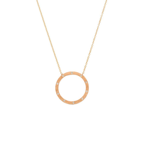 THE DUNES SMALL CIRCLE NECKLACE SETHI COUTURE
