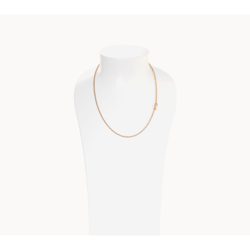 TAMARA COMOLLI BELCHER CHAIN NECKLACE OVAL 2.8MM TAMARA COMOLLI