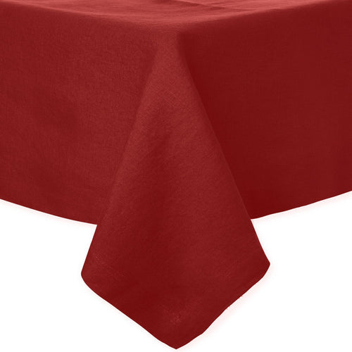 BODRUM RIVIERA BURGANDY TABLECLOTH 68X108 BODRUM