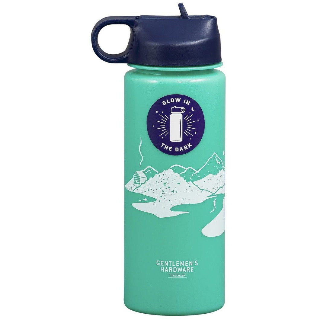 WILD + WOLF GLOW IN THE DARK WATER BOTTLE 24OZ Wild + Wolf