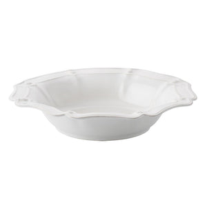 "JULISKA BERRY & THREAD WHITE LARGE SERVING BOWL 16"" JULISKA"