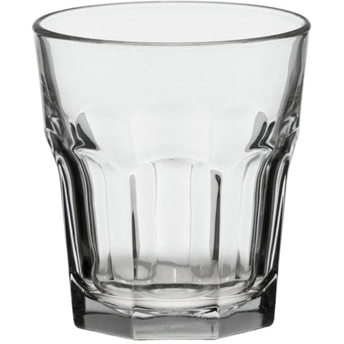 DOWN TO EARTH GIBRALTAR CLEAR ROCKS GLASS 12 OZ LIBBEY