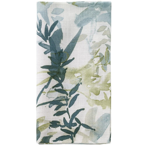 BODRUM OSAKA TEAL TABLE RUNNER 90