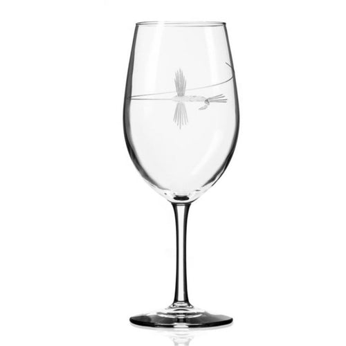 ROLF FLY FISHING AP WINE GLASS 18OZ ROLF