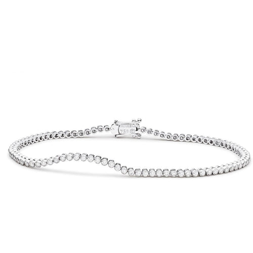PAUL MORELLI DIAMOND STITCH WHITE GOLD BRACELET 1.4M PAUL MORELLI