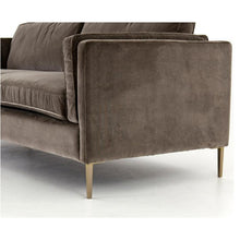 "Load image into Gallery viewer, FOUR HANDS EMERY SOFA 84"" SAPPHIRE BIRCH"