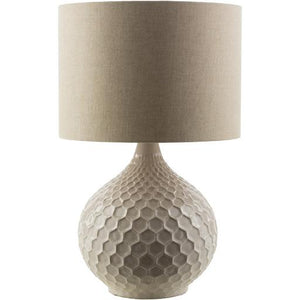 SURYA BLAKELY TABLE LAMP W/LINEN SHADE SURYA