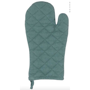 NOW DESIGNS STONEWASH OVEN MITT HEIRLOOM LAGOON NOW DESIGNS