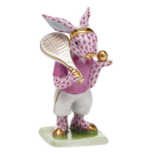 HEREND TENNIS BUNNY PINK HEREND