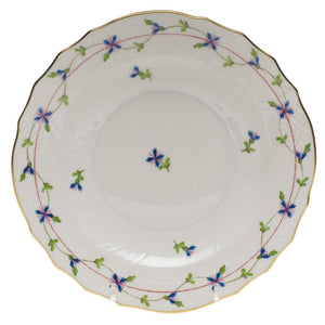 HEREND BLUE GARLAND SALAD PLATE HEREND
