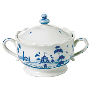 JULISKA COUNTRY ESTATE DELFT BLUE SUGAR BOWL