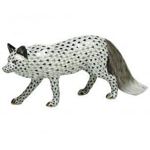 HEREND SILVER FOX HEREND