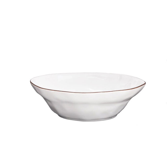 SKYROS CANTARIA WHITE SMALL SERVING BOWL SKYROS