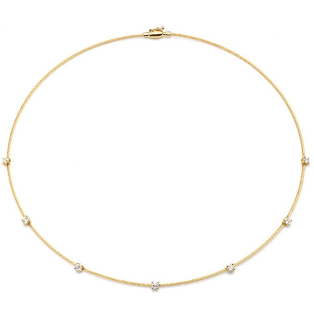 PAUL MORELLI YELLOW GOLD WIRE NECKLACE 1.2M PAUL MORELLI