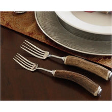 Load image into Gallery viewer, VAGABOND HOUSE NATURAL ANTLER 5PC PLACE SETTING NSO